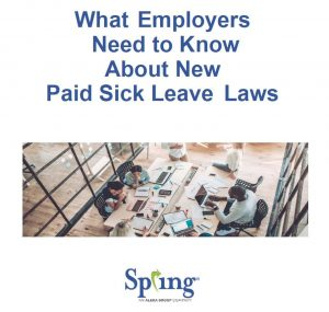 Paid leave laws by state